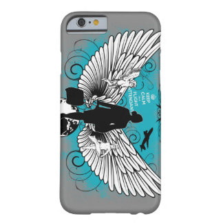 Light gray kciafa barely there iPhone 6 case