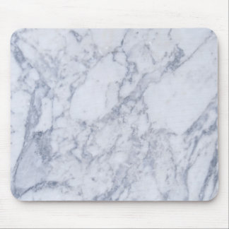 Light Gray  Marble Stone Pattern Mouse Mat