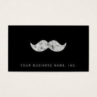 Light Gray Mustache (letterpress style)