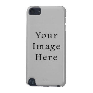 Light Gray Silver Grey Color Trend Blank Template iPod Touch (5th Generation) Cover