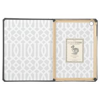 Light Gray Trellis | Ipad Dodo Case Case For iPad Air