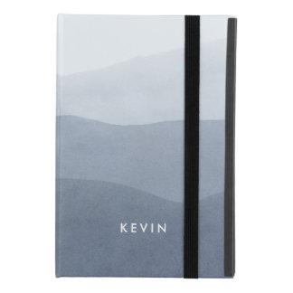 Light Gray Watercolors Tranquil Gradient 2 iPad Mini 4 Case