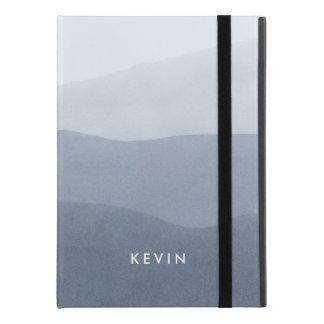 "Light Gray Watercolors Tranquil Gradient iPad Pro 9.7"" Case"