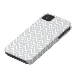 Light gray whimsical zigzag chevron pattern case