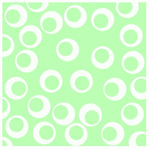 Light green and white retro pattern. photo sculpture