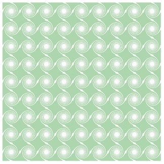 Light green and white swirl pattern. photo sculpture magnet