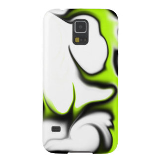 Light Green Black and White Galaxy S5 Covers