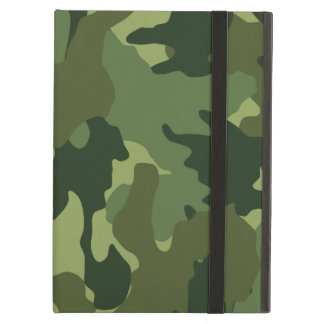 Light Green Camo Pattern Powis iCase iPad Air Case