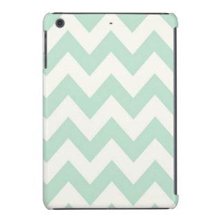 Light Green Chevron iPad Mini Case