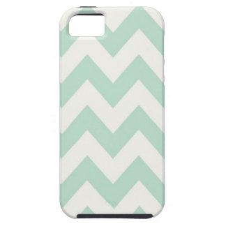 Light Green Chevron iPhone 5 Cases