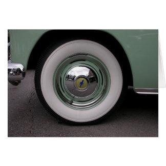 Light Green Chevy Card