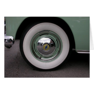 Light Green Chevy Greeting Card