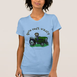 Light Green Farmer Girl T-Shirt