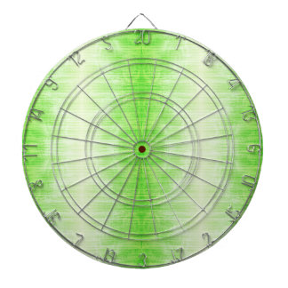 Light Green Gradient Texture Pattern Dartboard