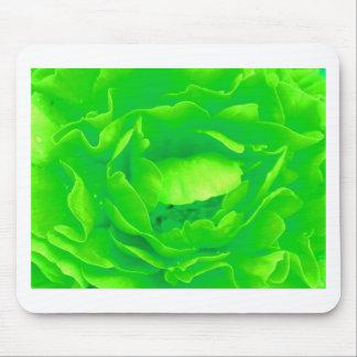 Light Green Rose Mousepad- Customizable Mouse Pad