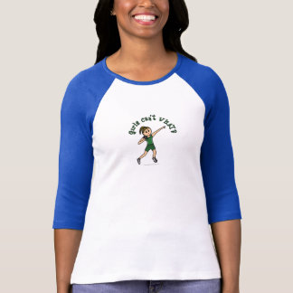 Light Green Shot Put T-Shirt