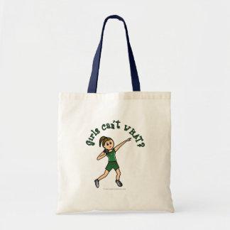 Light Green Shot Put Tote Bag