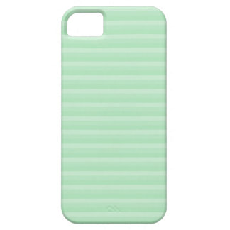 Light Green Stripe Pattern. iPhone 5 Cover