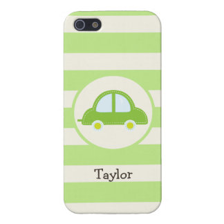 Light Green Toy Car iPhone 5/5S Cover