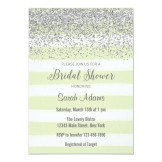 Light Green Watercolor Bridal Shower Invitation