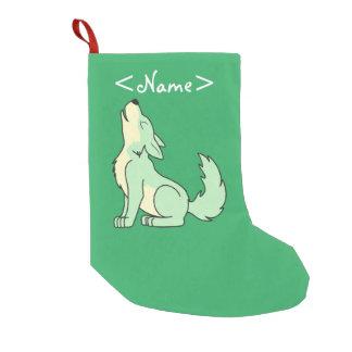 Light Green Wolf Pup Howling