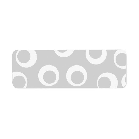 Light grey and white retro pattern.