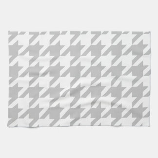Light Grey Houndstooth Tea Towel