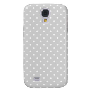 Light Grey with Dots Galaxy S4 Case