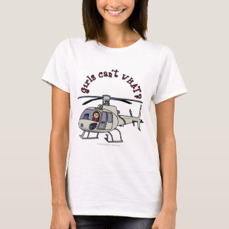 Light Helicopter Girl T-Shirt