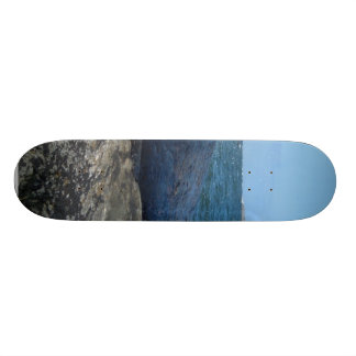 Light House From Beach Custom Skate Board
