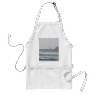 Light House in the Mist Standard Apron