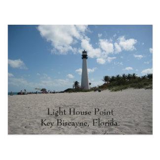 Light House Point Key Biscayne Postcard