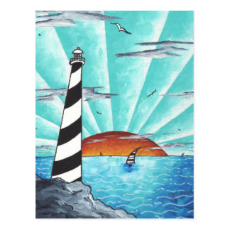 Light House Postcard