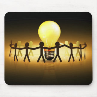 Light idea mouse pad