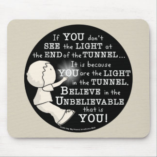 Light in the Tunnel Mouse Mat