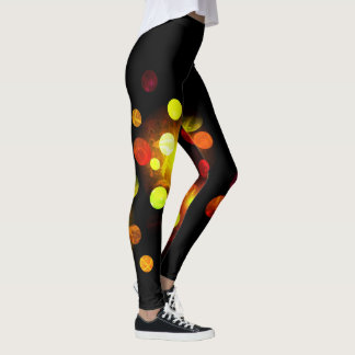 Light It Up Dark Scribble Leggins Leggings