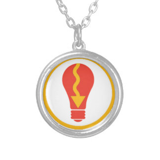 Light It Up Silver Plated Necklace
