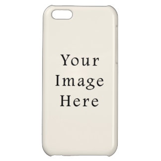 Light Ivory Tan Taupe Color Trend Blank Template iPhone 5C Case