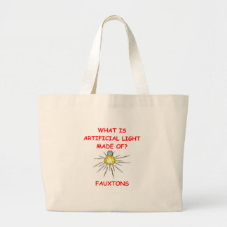 light joke tote bags
