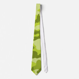 Light, Lime Green Camo, Camouflage Tie