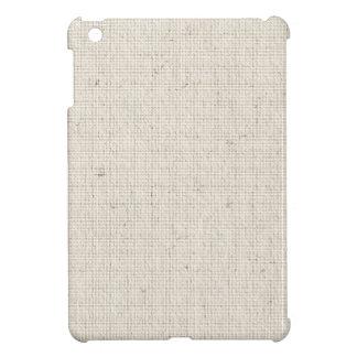 Light Linen Background iPad Mini Cases