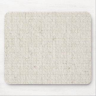 Light Linen Background Mouse Mat