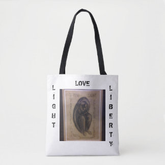 Light, Love, Liberty Tote Bag