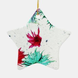 Light micrograph microscope image of apple cells christmas ornament