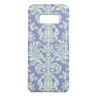 Light Mint Green And Lavender Floral Damasks Case-Mate Samsung Galaxy S8 Case