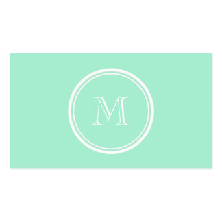 Light Mint Green High End Colored Pack Of Standard Business Cards