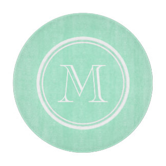 Light Mint Green High End Colored Cutting Board