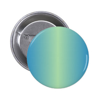 Light Moss Green and True Blue Gradient 6 Cm Round Badge