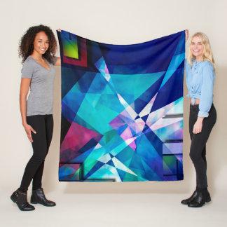 Light movement fleece blanket