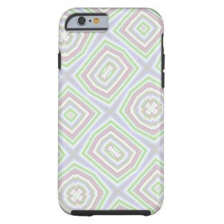 light multicolored pattern tough iPhone 6 case